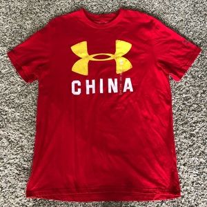 Under Armour Charged China Loose graphic tee, L